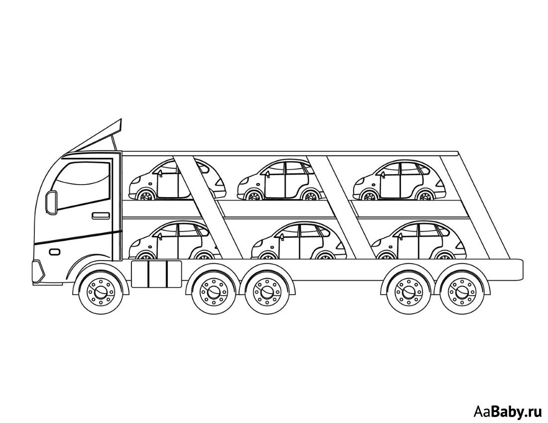 Автовоз | aaBaby - Чем занять ребенка