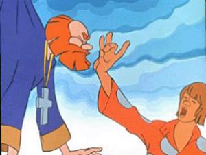 Сказка Попе и Его Работнике Балде - картинка 1