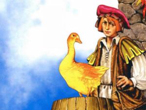 Золотой гусь сказки братьев гримм сказки для детей.