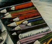 скачать песню коробка с карандашами